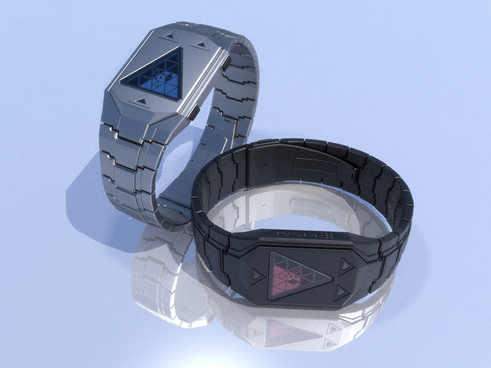 triangular_time_watch_concept