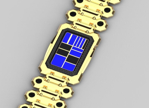 razor_phone_inspired_led_watch_design_gold_blue