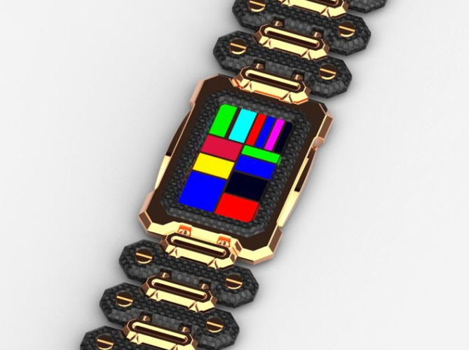 razor_phone_inspired_led_watch_design_gold_multiled