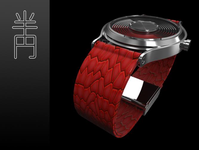 half_circles_time_watch_design_crocodile_leather