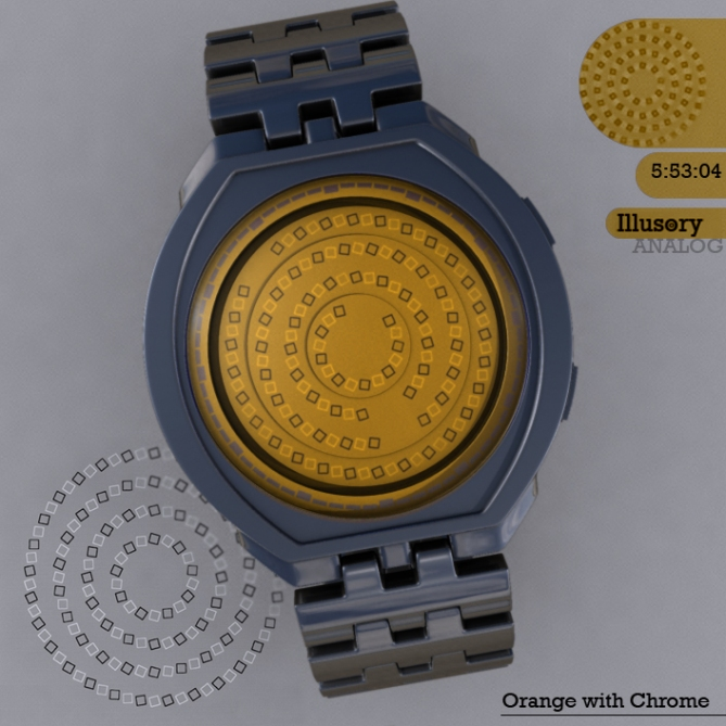 Illusory_watch_design_chrome_orange