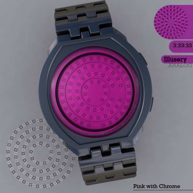 Illusory_watch_design_chrome_pink