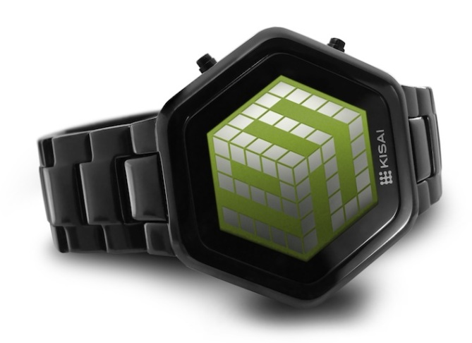 kisai_3d_unlimited_colored_lcd_watch_design_from_tokyoflash_japan_black_green