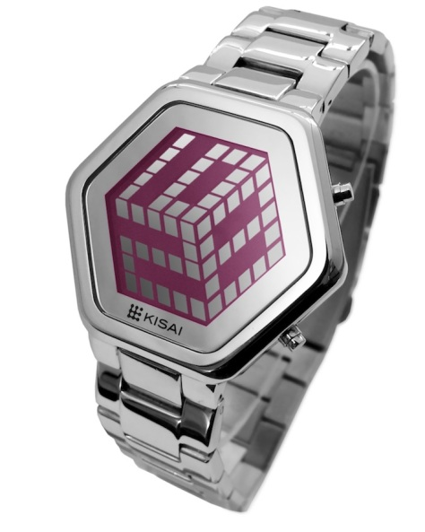 kisai_3d_unlimited_colored_lcd_watch_design_from_tokyoflash_japan_silver_pink