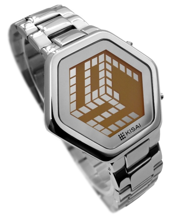 kisai_3d_unlimited_colored_lcd_watch_design_from_tokyoflash_japan_silver_orange