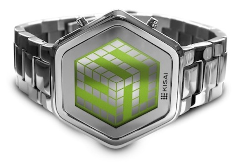 kisai_3d_unlimited_colored_lcd_watch_design_from_tokyoflash_japan_silver_green