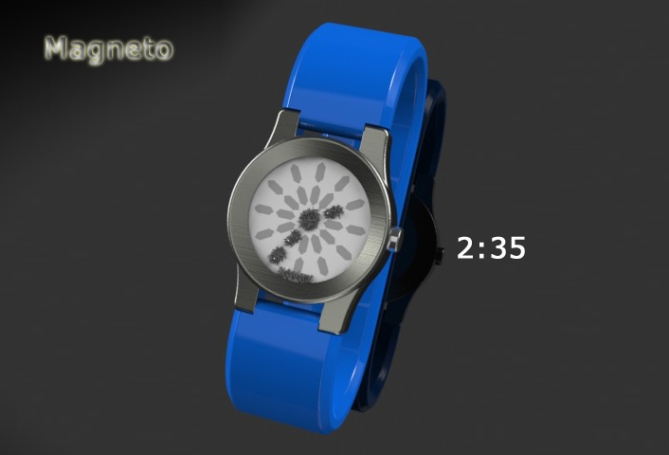 magnetized_watch_design_analog_time_sample
