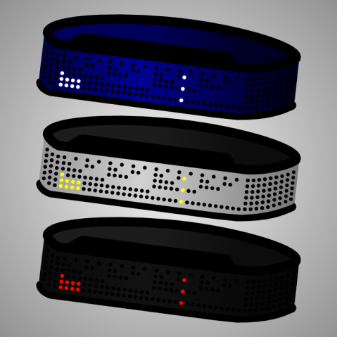 binary_shinshoku_led_watch_design_color_variations