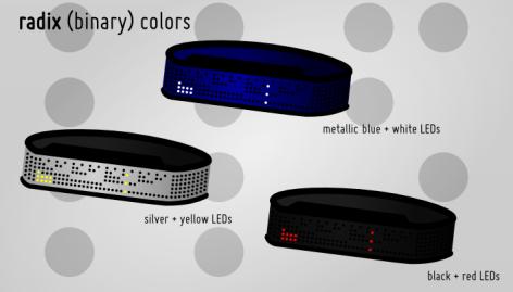 binary_shinshoku_led_watch_design_color_variations