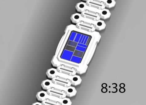 razor_phone_inspired_led_watch_design_white_blue