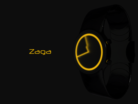 zaga_analog_wrist_watch_design_orange_display