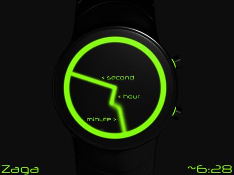 zaga_analog_wrist_watch_design_explanation