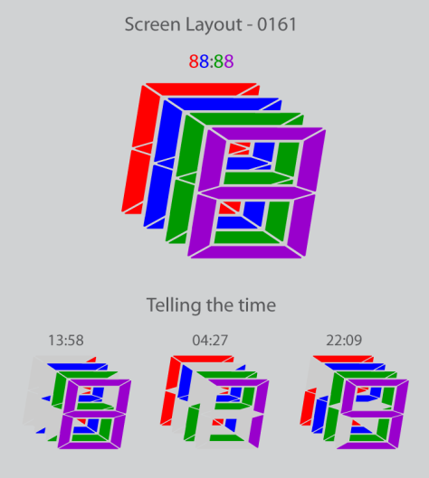 overlapped_digital_led_watch_design_layout