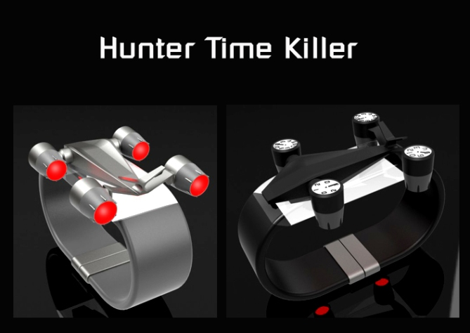 hunter_time_killer_engine_dials_watch_design_led