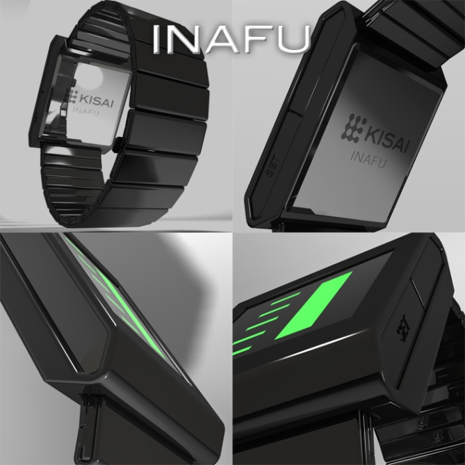inafu_six_led_display_watch_design_closeup