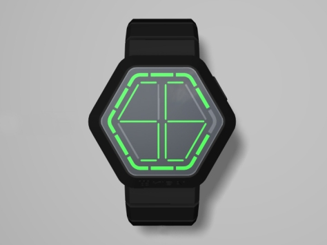 kisai_night_vision_black_usb_rechargeable_led_watch_design_from_tokyoflash_japan_concept