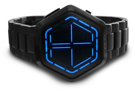 kisai_night_vision_black_usb_rechargeable_led_watch_design_from_tokyoflash_japan_blue_led