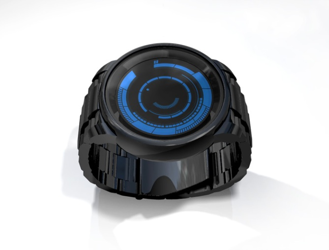 kisai_rogue_touch_LCD_LED_watch_concept_to_reality_black_blue_concept