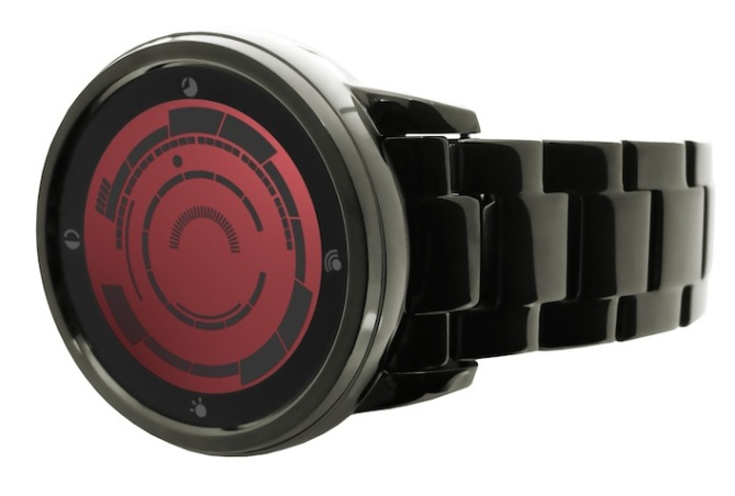 kisai_rogue_touch_LCD_LED_watch_concept_to_reality_final watch_red
