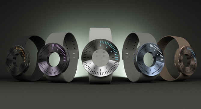 minimo_aluminum_led_watch_design_color_variation