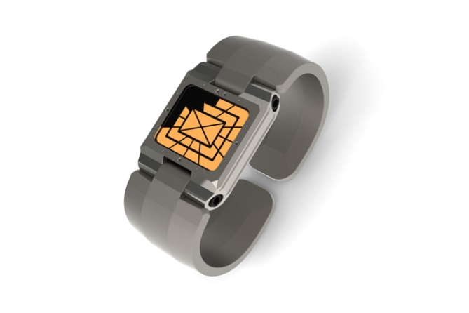 hinged_analog_led_watch_design_nickel