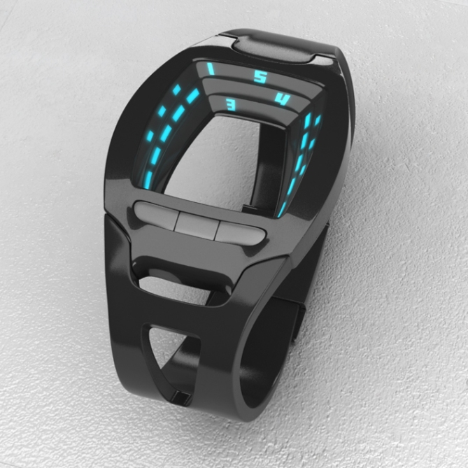 sf_view_minimalist_scifi_led_watch_design_black_front