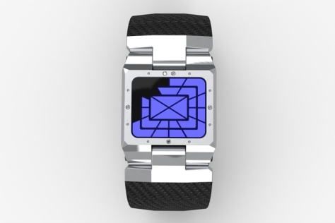 hard_shelled_led_watch_design_silver_blue