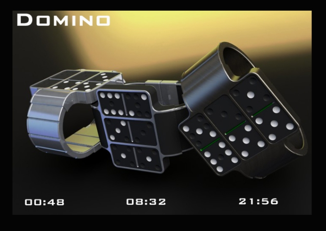 dominoes_an_led_watch_design_time