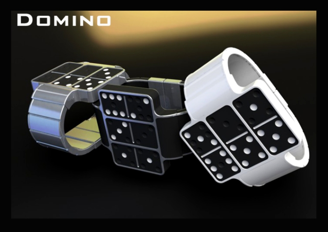 dominoes_an_led_watch_design_color_options