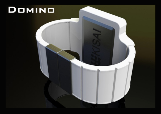 dominoes_an_led_watch_design_rear_view