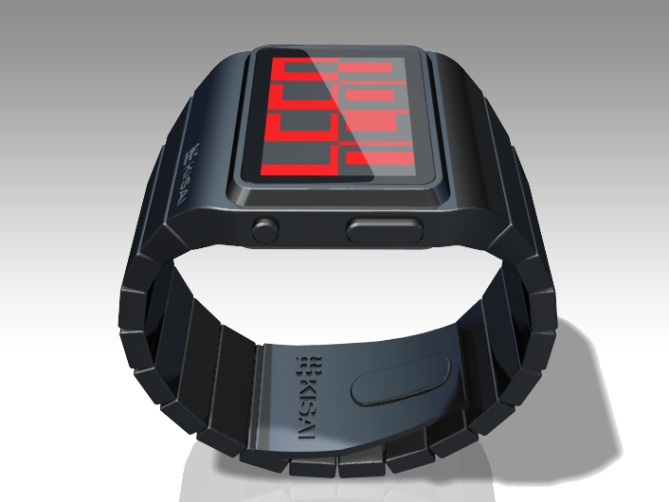 positive_negative_lcd_Watch_design_side_angle