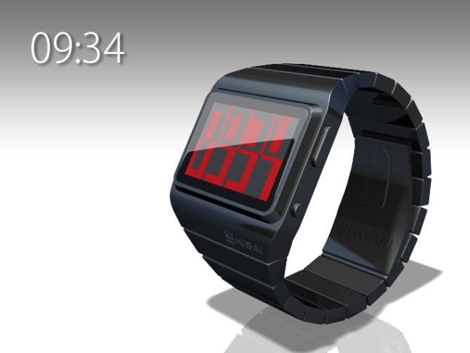 positive_negative_lcd_Watch_design_time