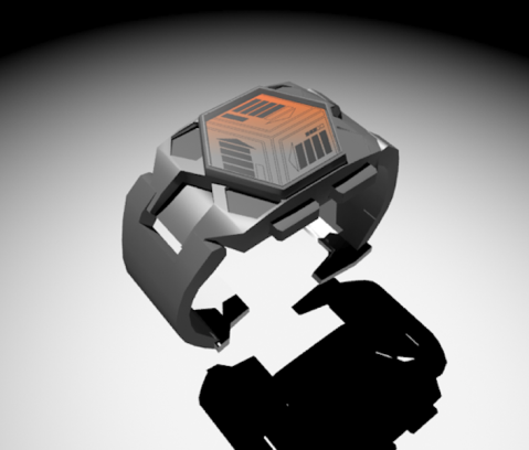 recycle_time_an_led_watch_design_front