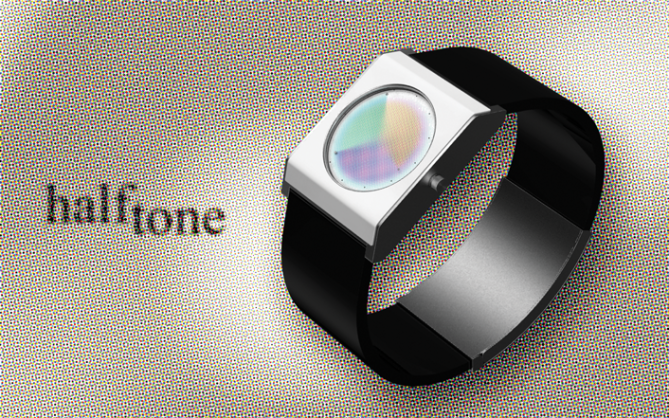 halftone_led_watch_design_full_view