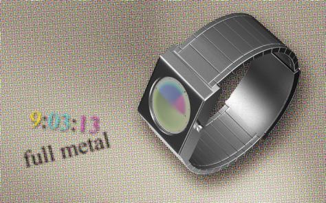 halftone_led_watch_design_metal