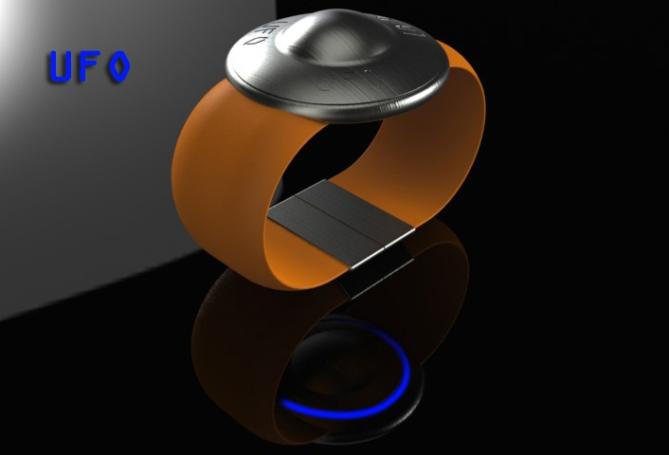 ufo_saucer_digital_lcd_watch_design_orange
