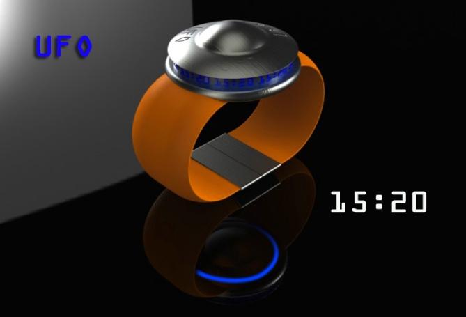 ufo_saucer_digital_lcd_watch_design_time_sample_blue