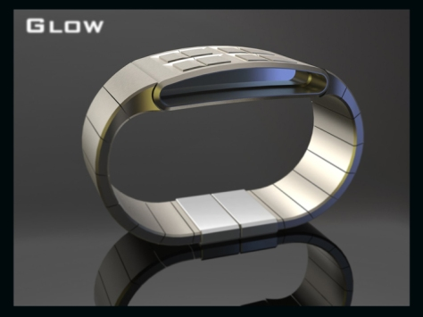 led_watch_design_glows_the_time_silver