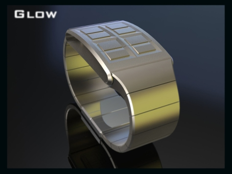 led_watch_design_glows_the_time_front