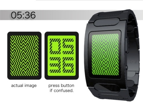 kisai_optical_illusion_touch_screen_lcd_watch_concept_to_reality_how_to_read