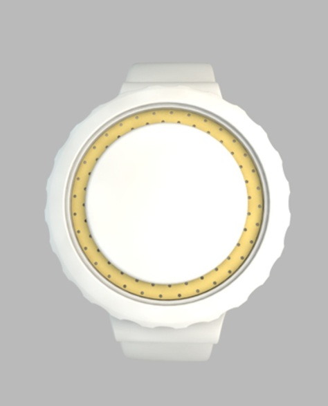 a_digital_watch_design with Customised Seconds_white
