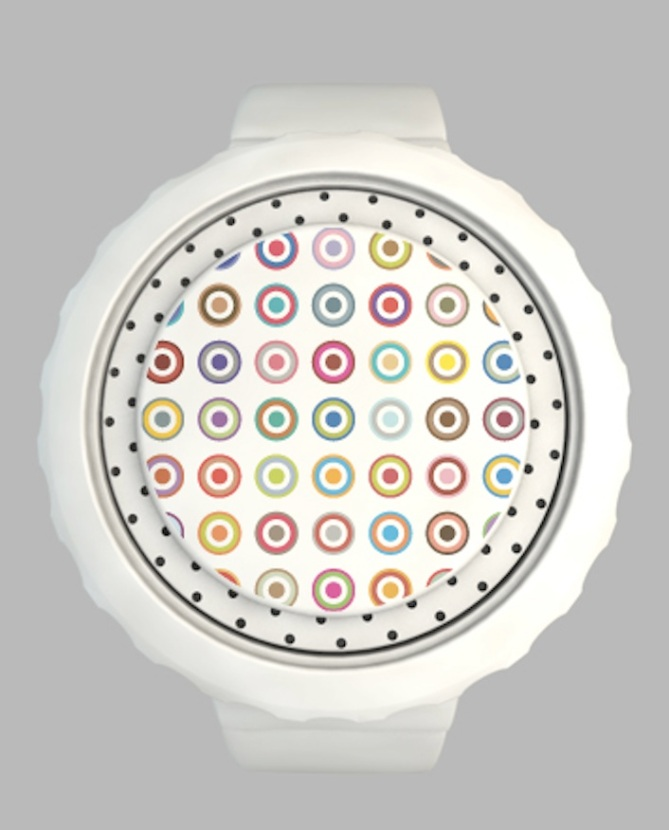 a_digital_watch_design with Customised Seconds_polka