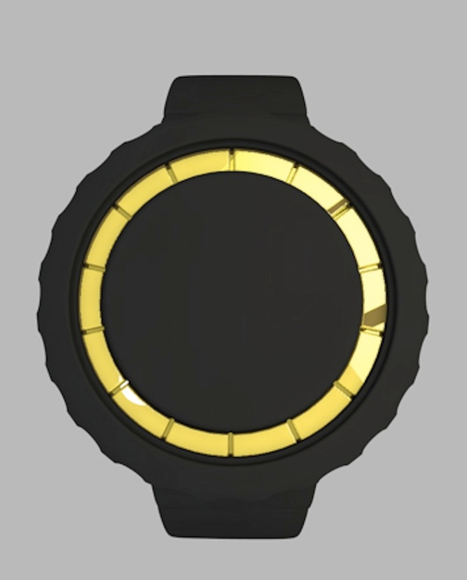 a_digital_watch_design with Customised Seconds_choc