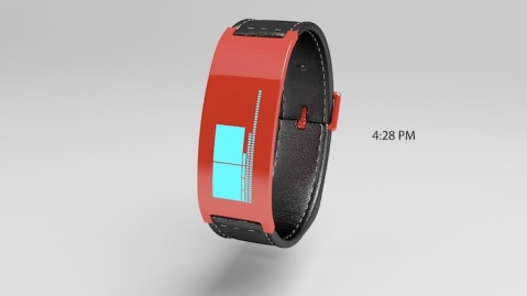 bracelet_watch_with_blocks_of_time_red