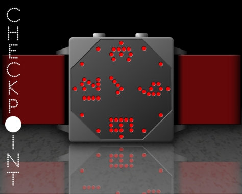 check_the_time_with_the_checkpoint_watch_design_red