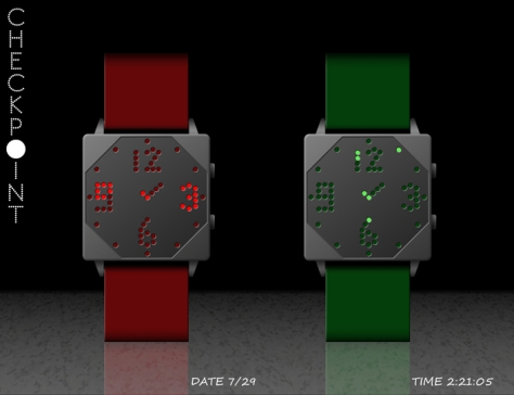 check_the_time_with_the_checkpoint_watch_design_green_red