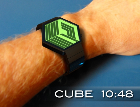 cube_watch_design_builds_a_cube_as_time_passes_wrist