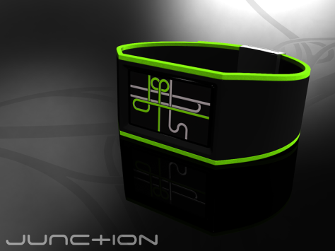 junction_watch_maps_digital_time_green