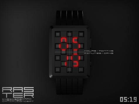 raster_led_watch_design_inspired_by_checkerboard_time