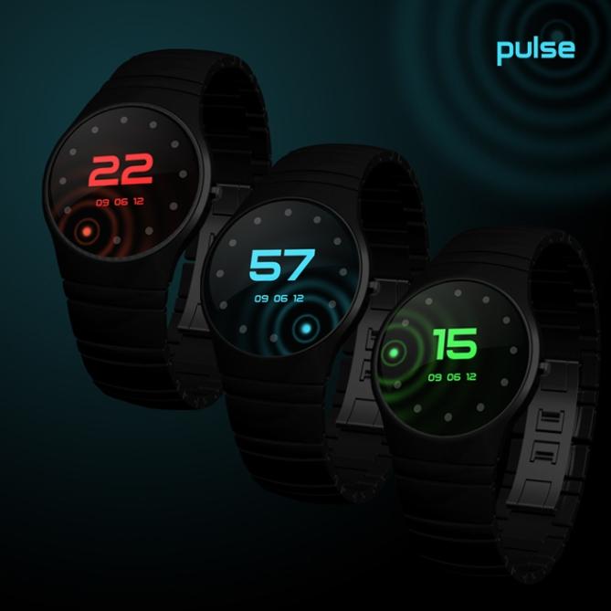 pulse watch follows your heartbeat tokyoflash japan